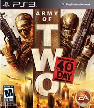 Boxshot Army of Two - The 40th Day