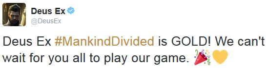 MankindDivided Tweet