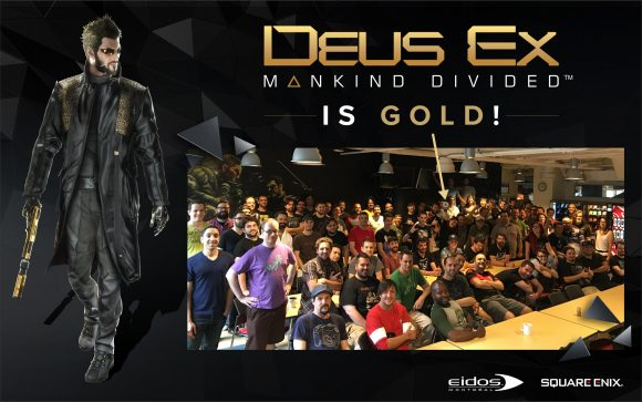 MankindDivided is Gold