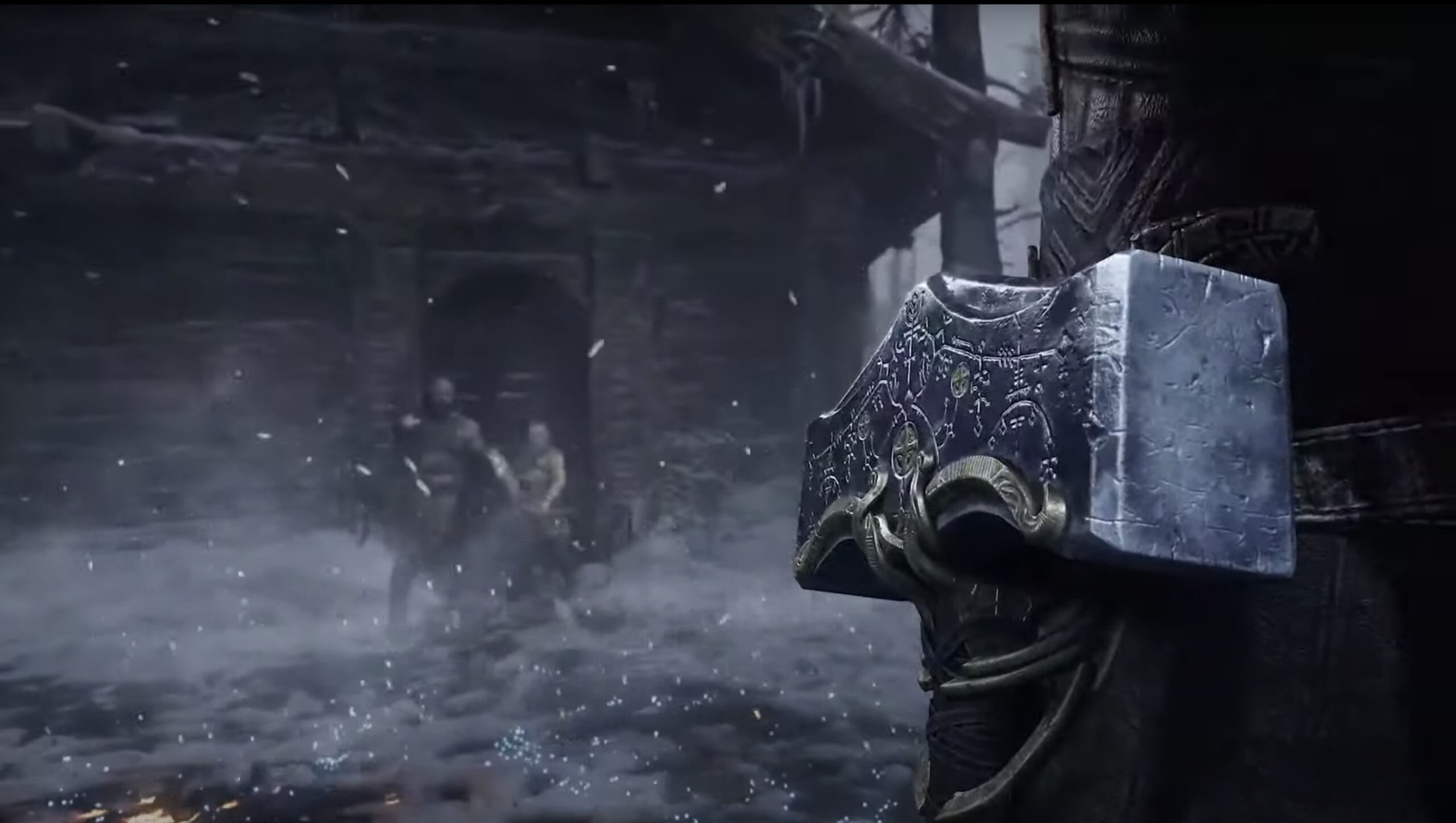 God of War: Ragnarok Thor Hammer Gamplay screenshot