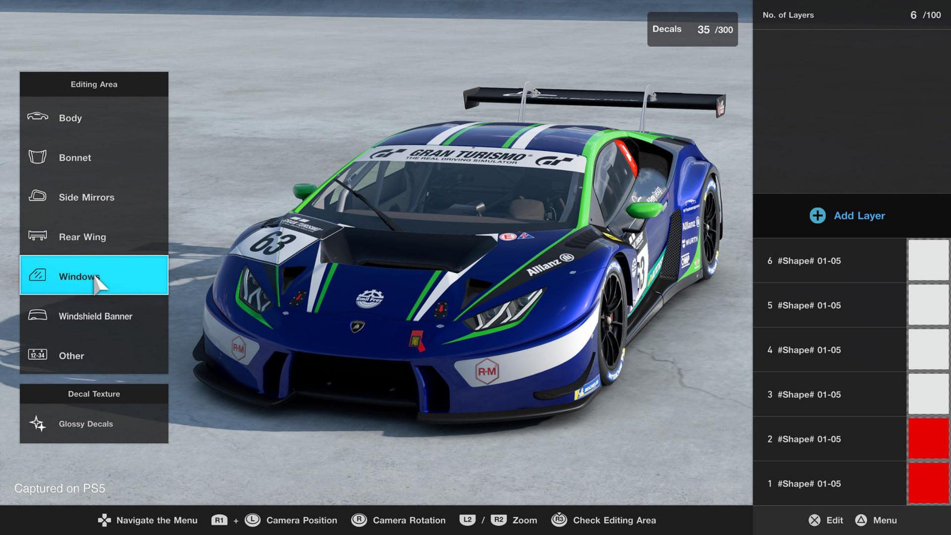 Gran Turismo 7 Livery Editor