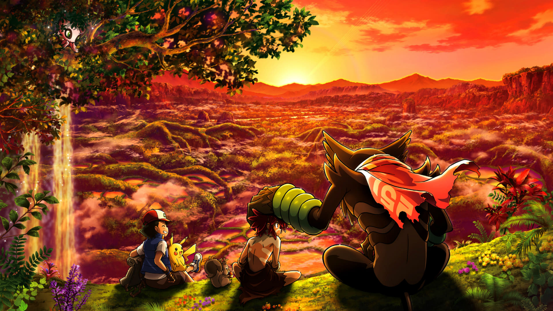 Pokémon The Movie: Secrets of the Jungle Promo Art