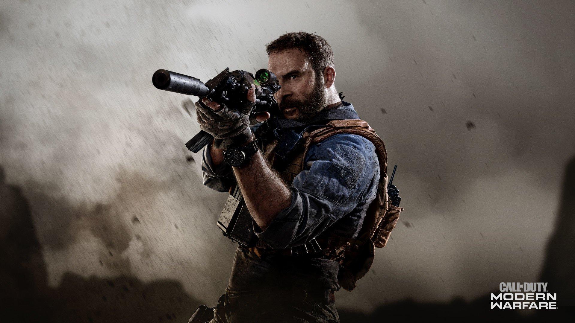 Call uf Duty Modern Warfare promo