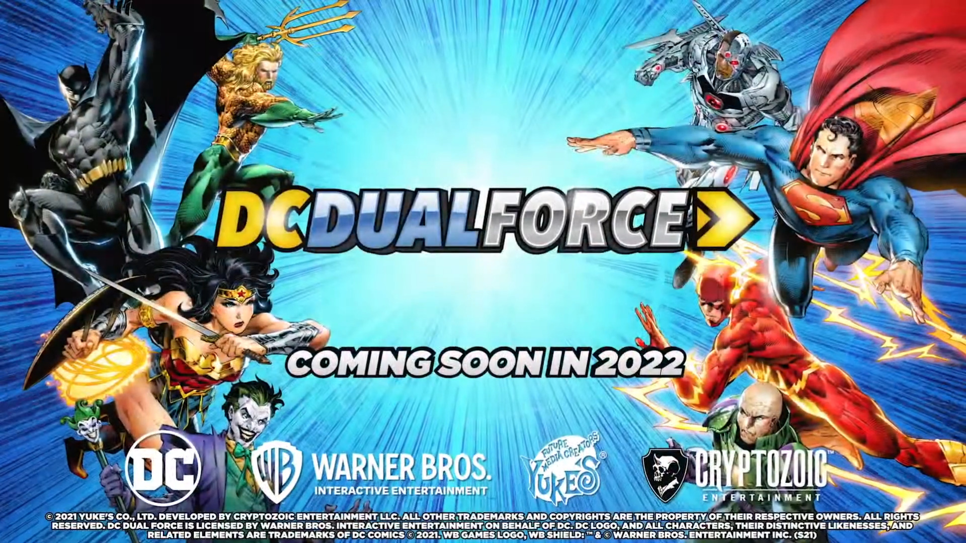 DC Dual Force Card Collectible game 2022 release