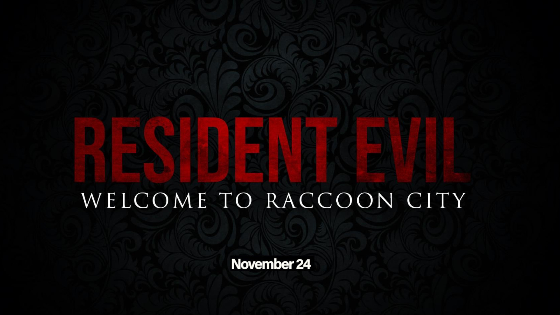 RE: Welcome to Raccoon City 24 november